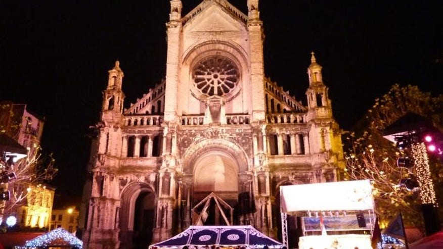 Christmas market — Brussels