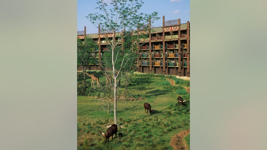 Disney's Animal Kingdom Lodge Resort, Orlando, Florida