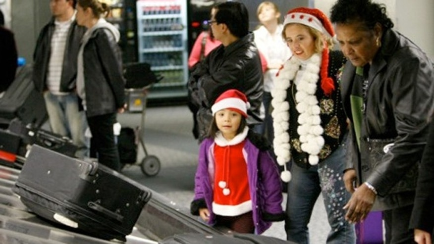 Almost 1M people will be traveling during the Christmas holiday.