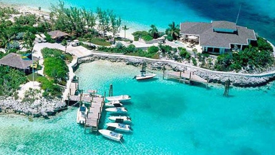 Rent a private island in the Bahamas