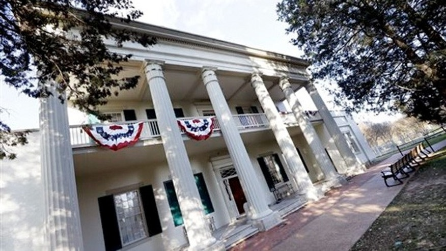 Jan. 7, 2015: The Hermitage, the home of President Andrew Jackson, is seen in Hermitage, Tenn.