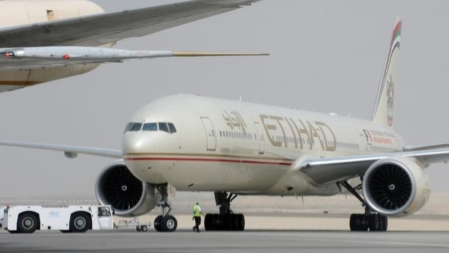 Passengers on Etihad flight 183 were on the ground for 12 hours.
