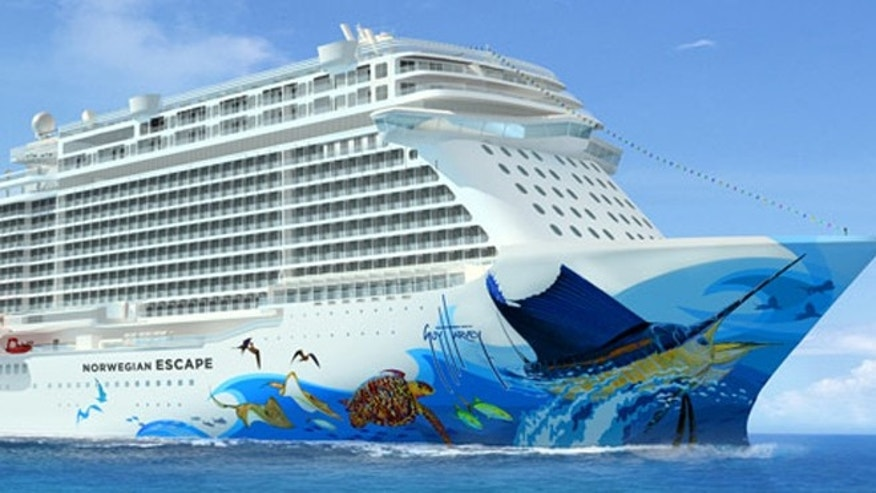 The Norwegian Escape will launch in November.