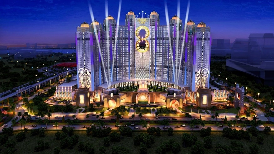 Studio City resort and casino will feature attractions inspired by Hollywood's biggest superheros.