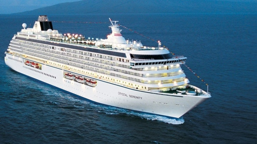 Lee Wachtstetter has called the Crystal Serenity home for seven years.