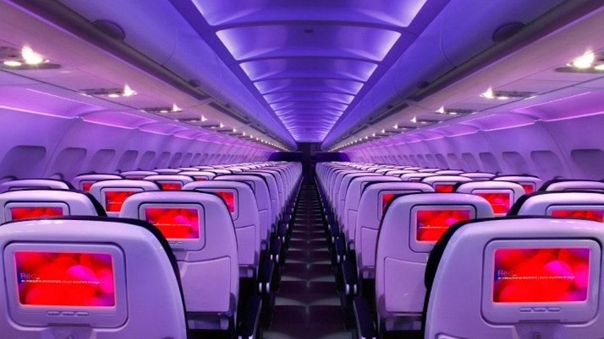 Virgin America offers inflight Wi-Fi on nearly all routes.