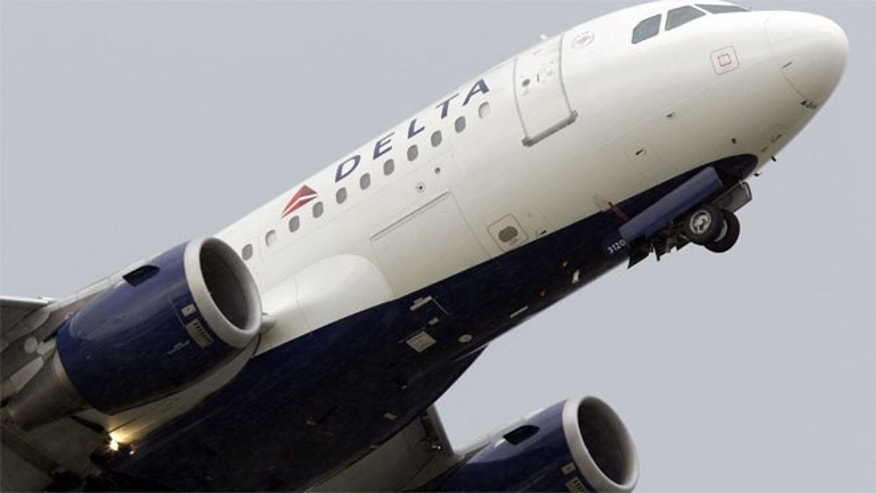 A Delta Air Lines flight heading from Minneapolis to Las Vegas was forced to make an emergency landing today after the pilot was locked out of the cockpit, airport officials said.