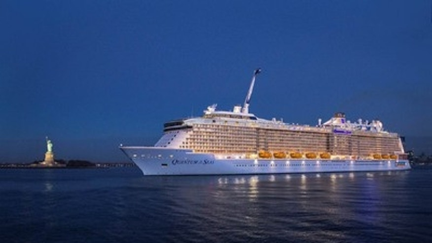Royal Caribbean's newest ship Quantum of the Seas.