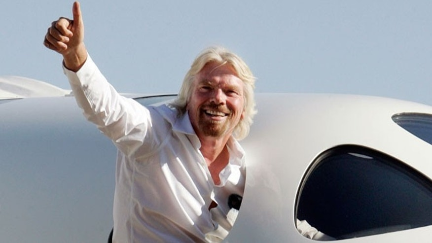 Richard Branson's empire includes branded hotels, airlines and space travel.