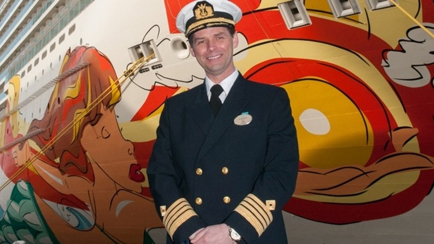 Rune Myre is the captain of the Norwegian Getaway.