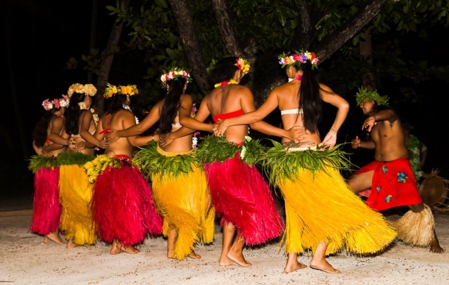 Editorial Images of the natiive people of French Polynesia on March 11 2014