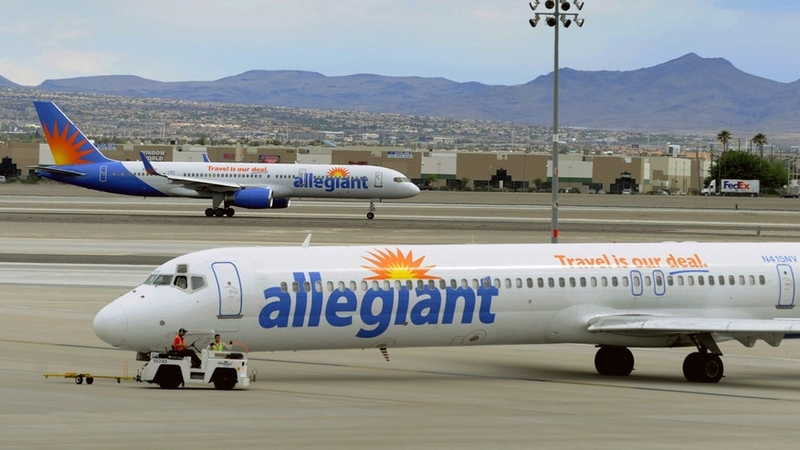 Allegiant Air is based in Las Vegas.