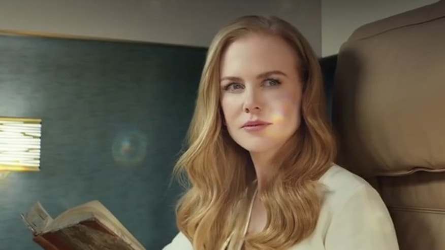 Nicole Kidman appears in a new commercial for UAE's Etihad Airways.