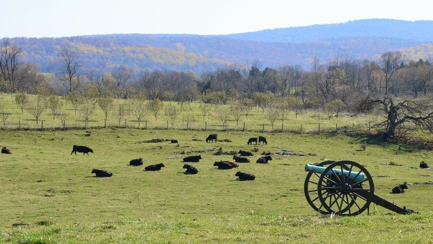 Nov. 6, 2011: Antietam National Battlefield in Sharpsburg, Md., is a serene setting once wracked by violence in the bloodiest one-day battle on U.S. soil.
