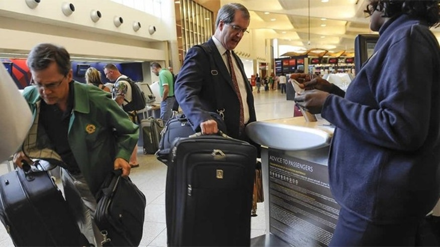 U.S. airlines earned $3.35 billion from baggage fees in 2013, the last full year for which figures are available, according to The U.S. Department of Transportation's Bureau of Transportation Statistics.