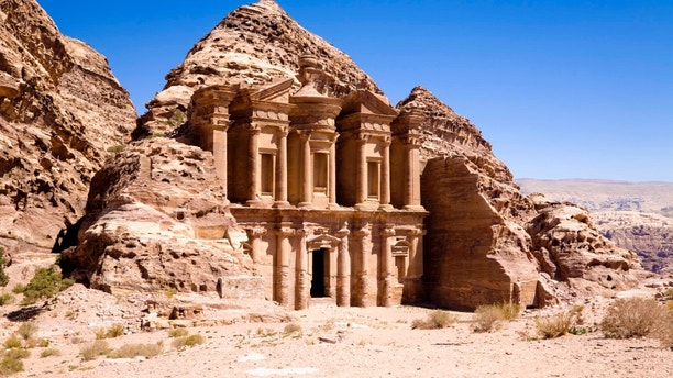 The Monastery in ancient city of Petra, Jordan