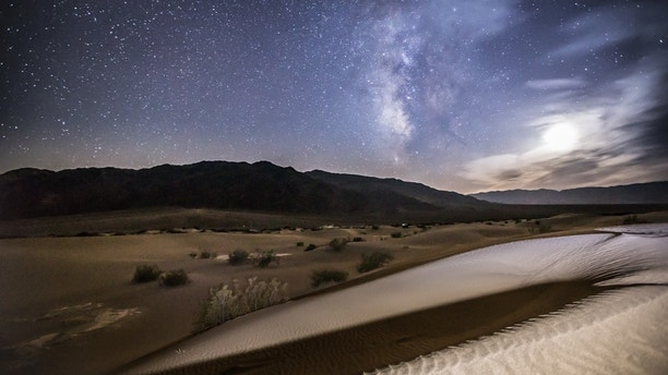Milky way and dunes