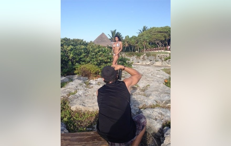 You can go on a tropical vacation with nfl cheerleaders for Where can i go on vacation