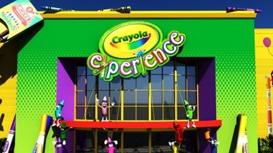 The Crayola Experience.