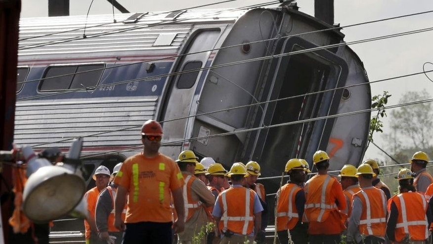 At least 8 people died this week after an Amtrak train derailed in Philadelphia.