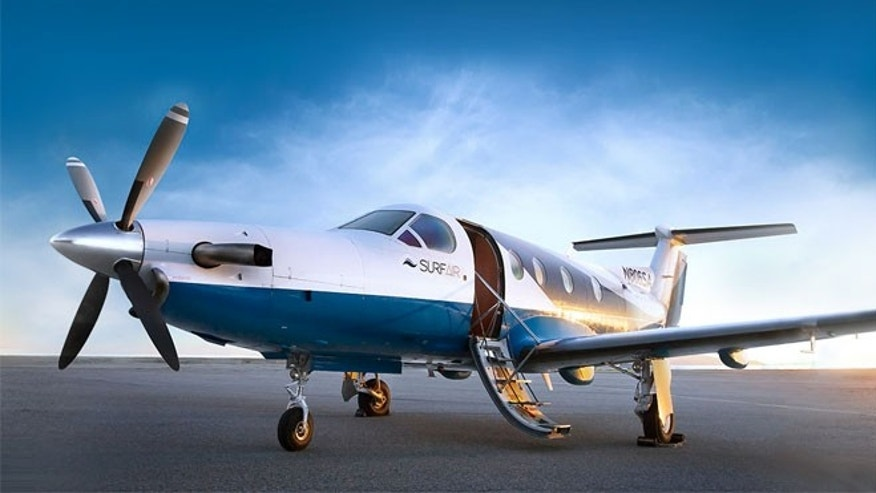 At a monthly subscription of $1,750, you can fly all you want on on Surf Air.