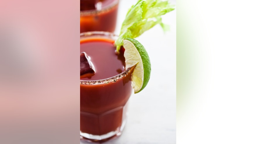 Bloody Marys taste better in the air.