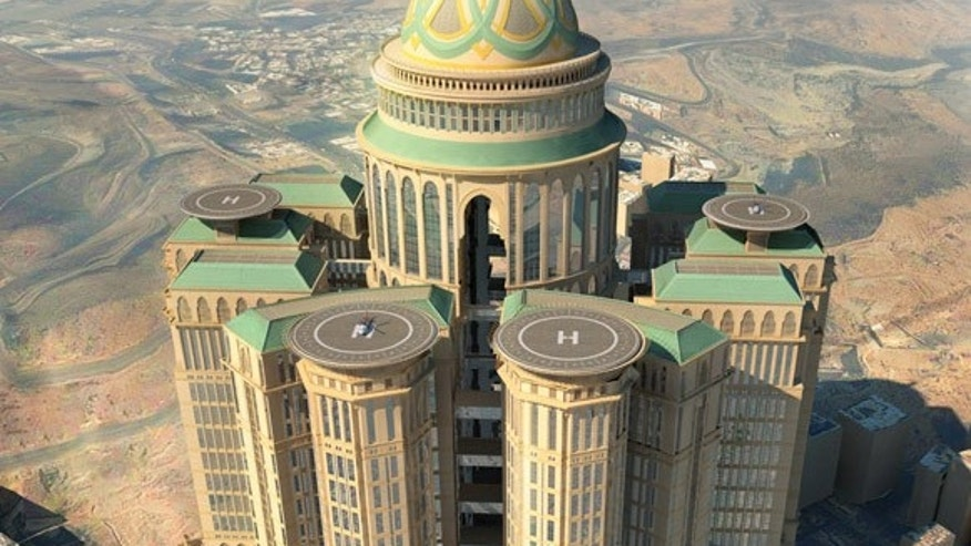 A rendering of the Abraj Kudai hotel expected to open in 2017.