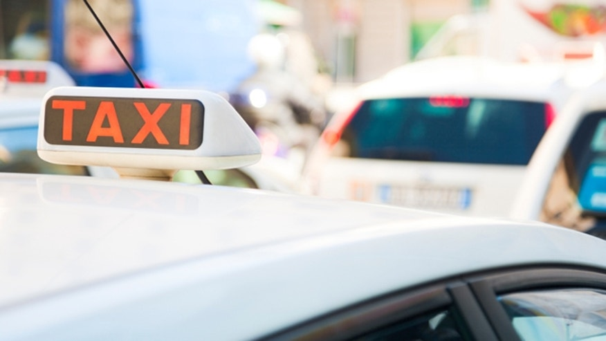 An overweight man claims a taxi driver overcharged him for causing an accident.