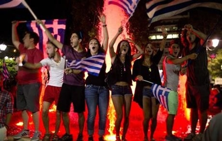 "Demonstrations after the ""no"" vote have some travelers concerned about safety in Greece."