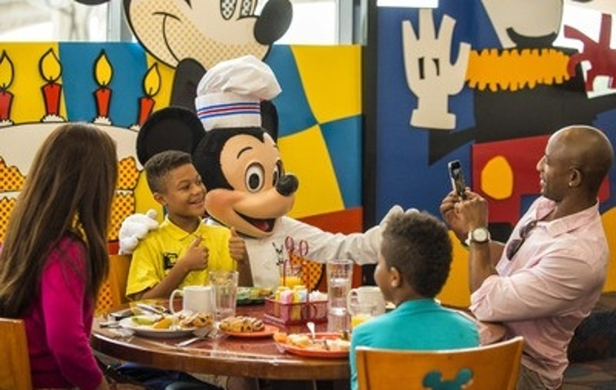 Timeless crowd-pleaser: Character dining a big draw at Walt Disney World.