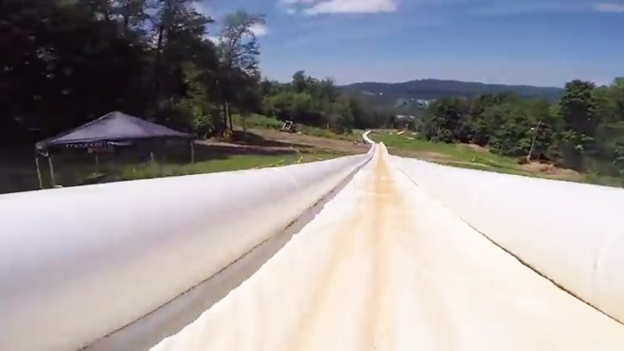 No end in sight: The world's longest waterslide