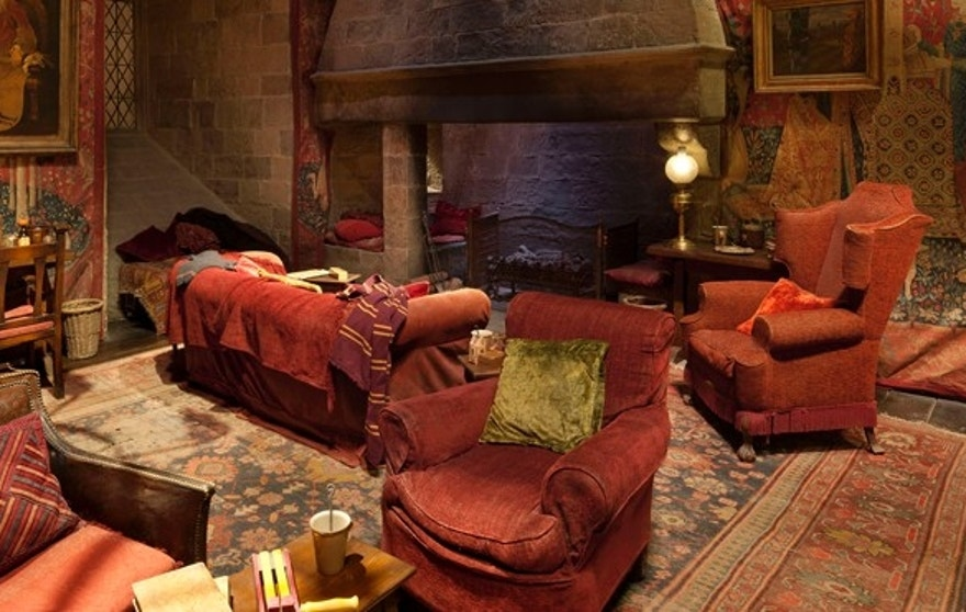 Gryffindor common room.