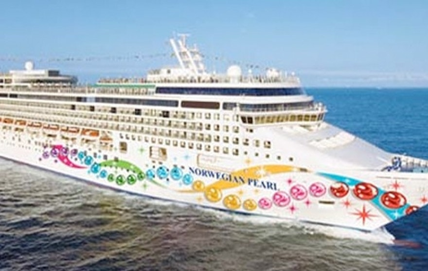 "Onboard the Norwegian Pearl will be ""Star Trek"" theme bars, life-sized board games and performances by the Enterprise Blues Band made up of ""Star Trek"" actors."