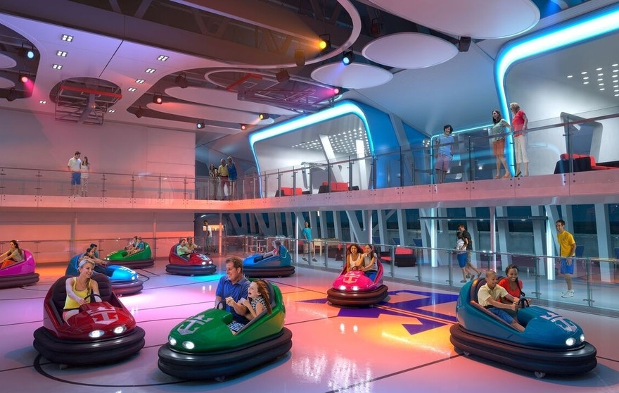 Better than Disney?  Royal Caribbean was named top cruise line for families.