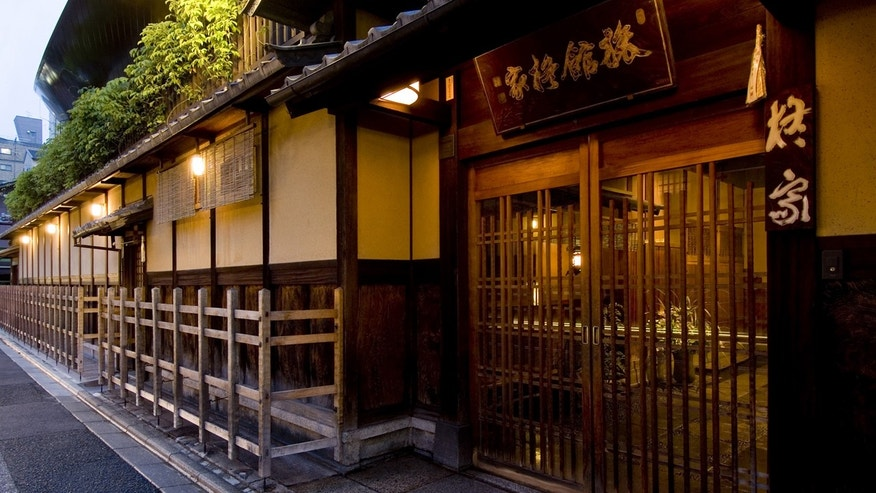 The 28-room Hiiragiya, located in the heart of Kyoto, Japan, has been operated for six generations by Akimi Nishimura's family.