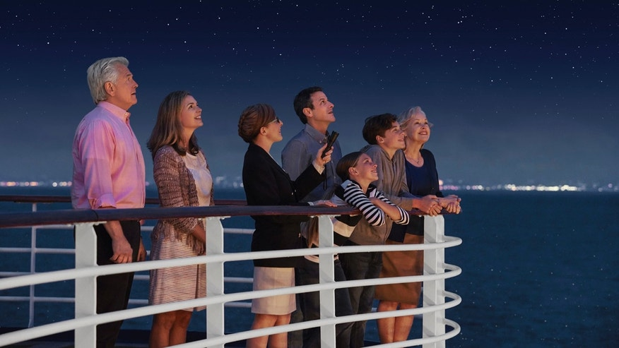 Stargazing aboard the Diamond Princess.