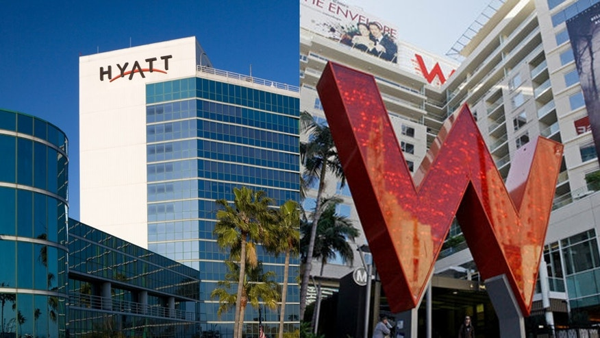 Hyatt in talks to snap up Starwood in major hotel group merger.