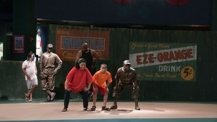 Negro League Baseball Museum, Kansas City.
