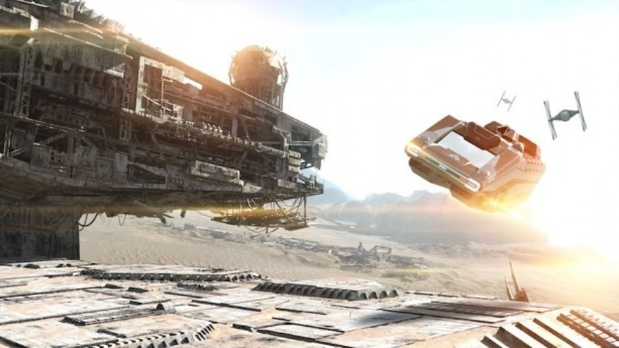 """Star Wars"" fans can experience a revamped Star Tours ride."