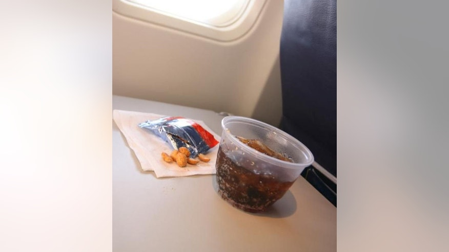 There have been more cashews in the mix, says American Airlines vice president for flight service Hector Adler.