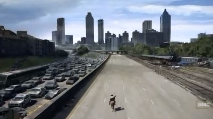 Get ready for a 'Walking Dead' ride.