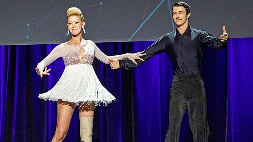 "Adrianne Haslet-Davis tweeted Thursday night: ""u lost my luggage w over $250k of leg & dance parts."""