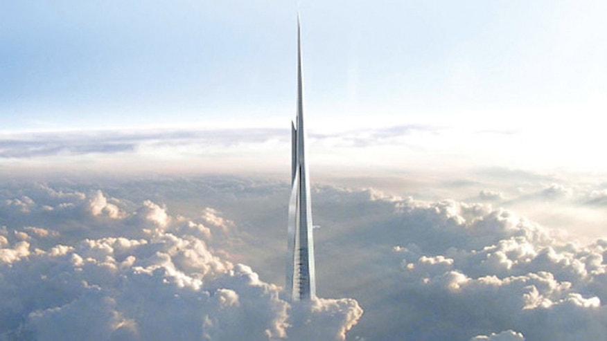 The Kingdom Tower will stand 3,280-feet tall. The Burj Khalifa, by comparison, stands at 2,716 feet. New York City's Freedom Tower, currently the fifth tallest in the world, is dwarf-like at 1,792 feet.