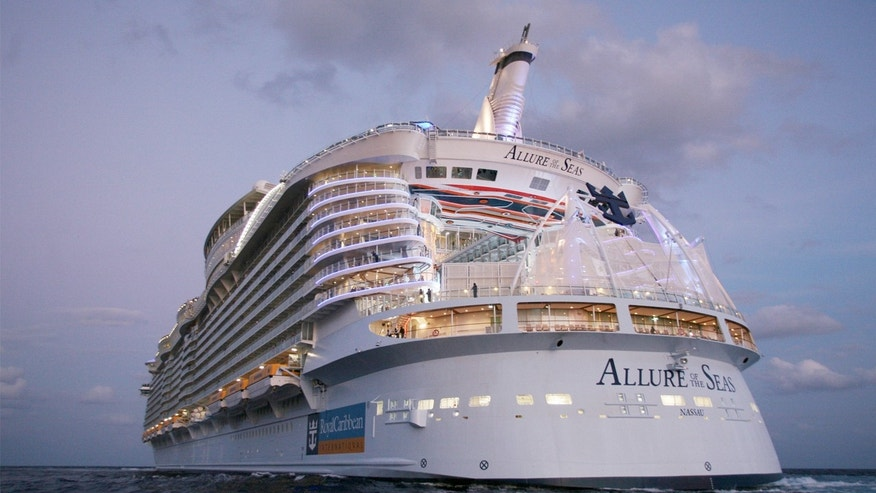 Ships like Royal Caribbean's Allure of the Seas are more energy efficient.