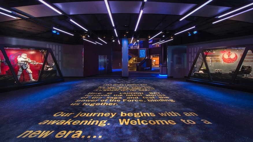 Star Wars Launch Bay.
