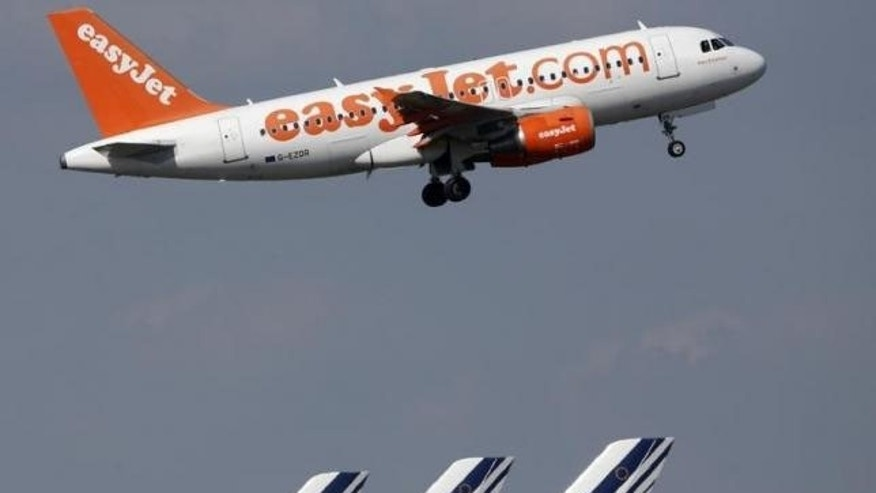 FILE: An easyJet aircraft takes-off. (Reuters/Christian Hartmann)