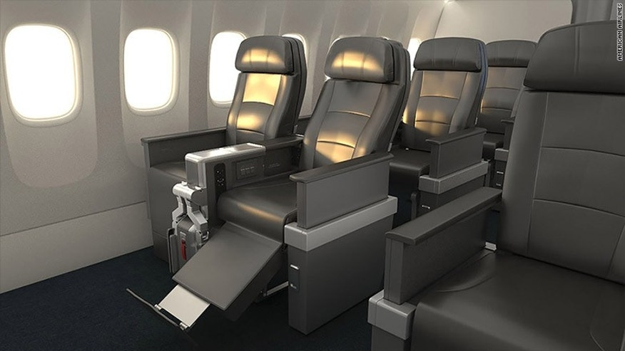 American Airlines unveiled its new Premium Economy class for 2016.