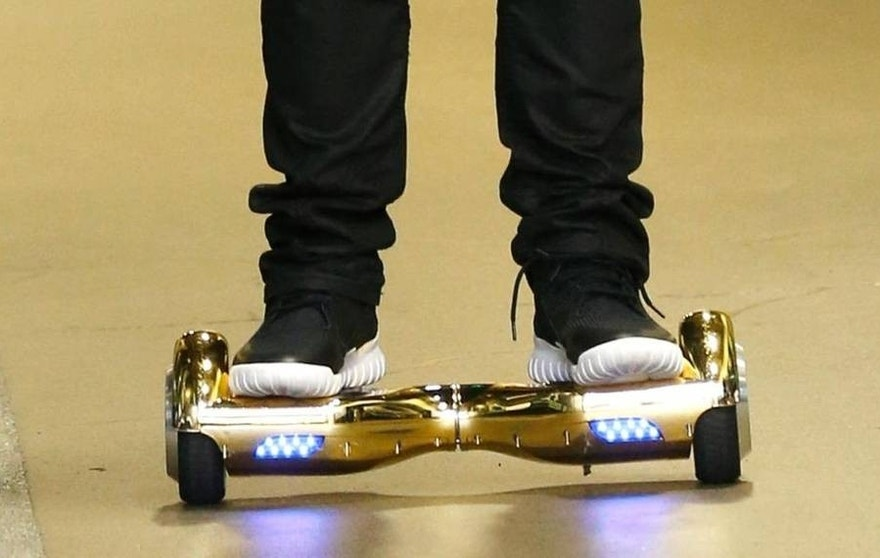 The motorized scooters have been banned from most major airlines.