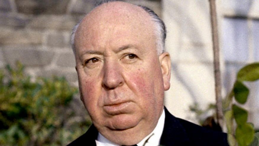 Alfred Hitchcock, seen here in 1964.