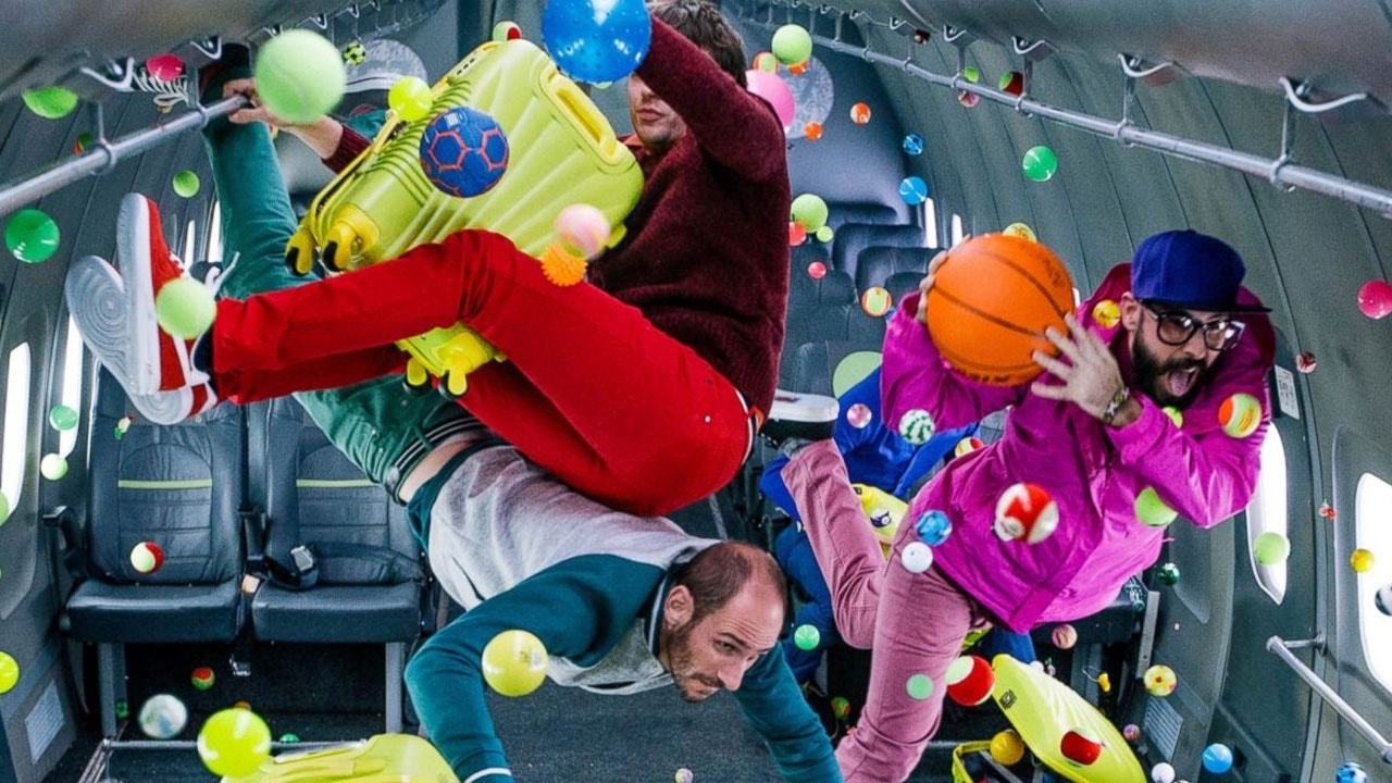 OK Go's zero-gravity video part of a thrill-seeking ...